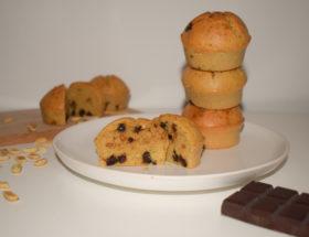 Muffin Cacahuète et Chocolat