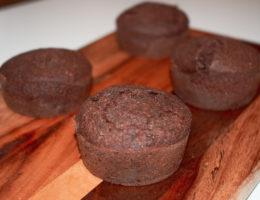 Muffins au chocolat vegan