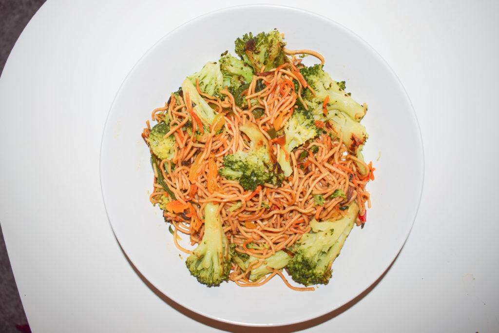 Nouilles aux légumes