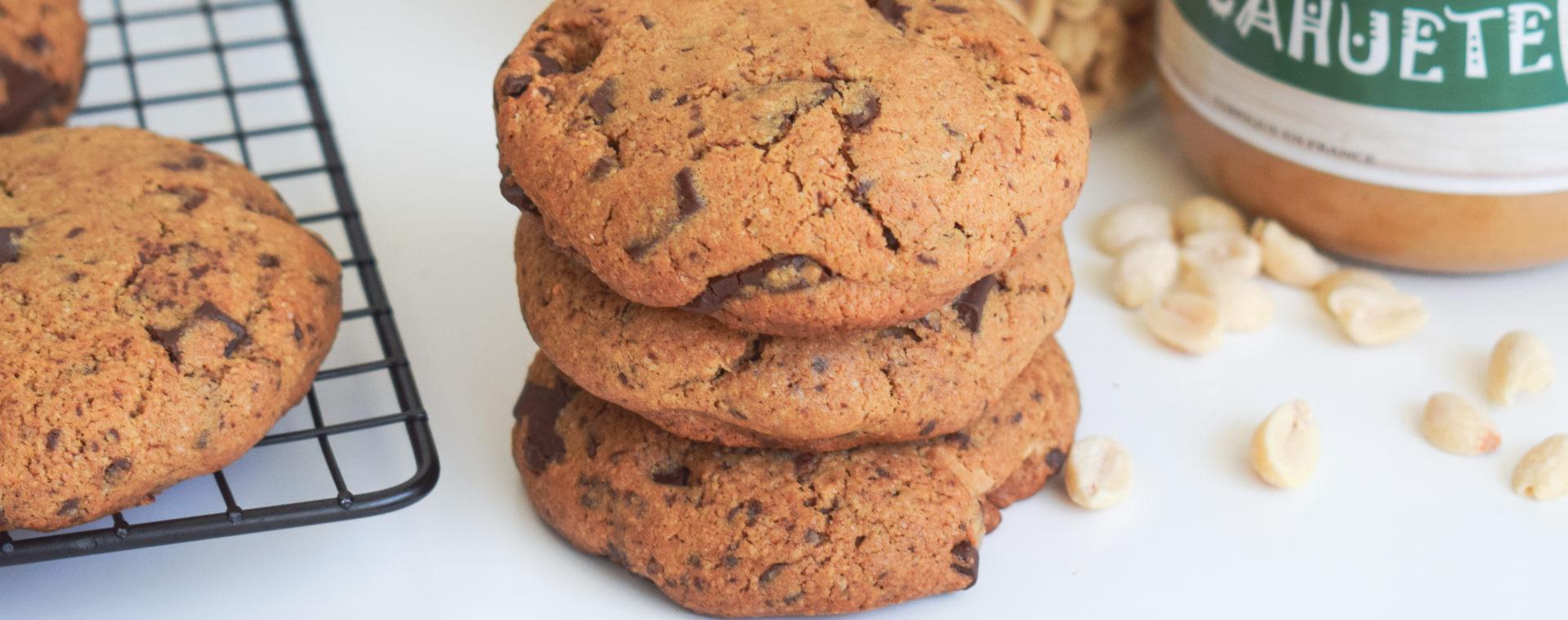 Cookies coeur cacahuète