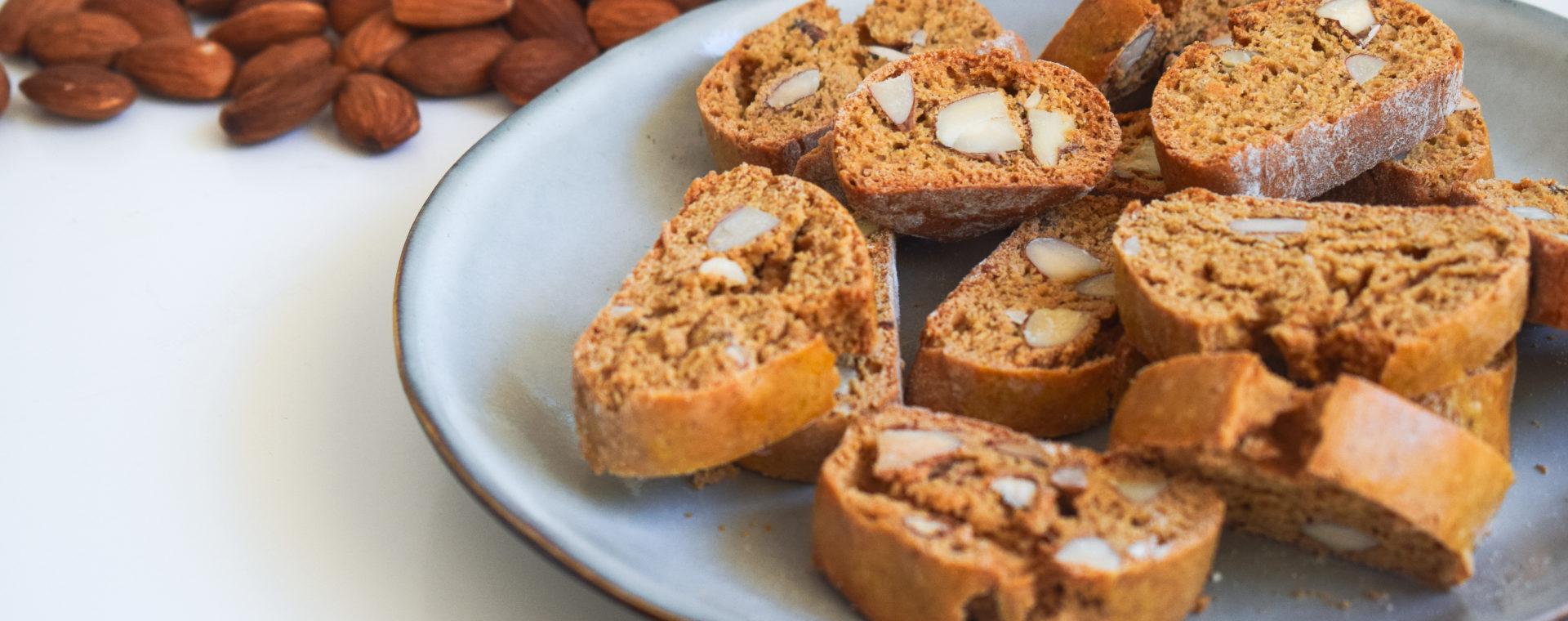 Biscuits croquants aux amandes
